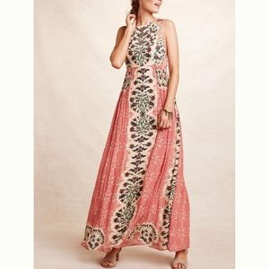 Anthropologie Botanique Maxi Dress
